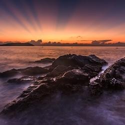 Hừng đông trên biển Quy Nhơn
