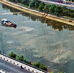 Phố dưới sông