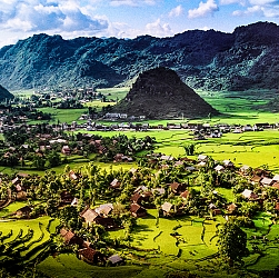 Thị trấn Quản Bạ Hà Giang